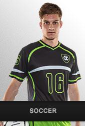 Build your soccer uniform on champrosports.com